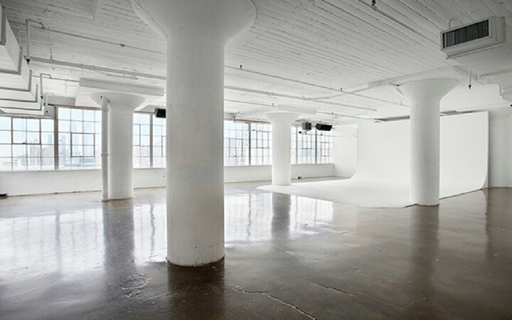 natural light flooding the event space at canoe studios in nyc