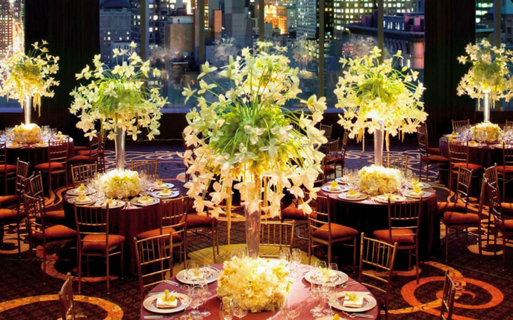 event setup at the mandarin oriental in new york city