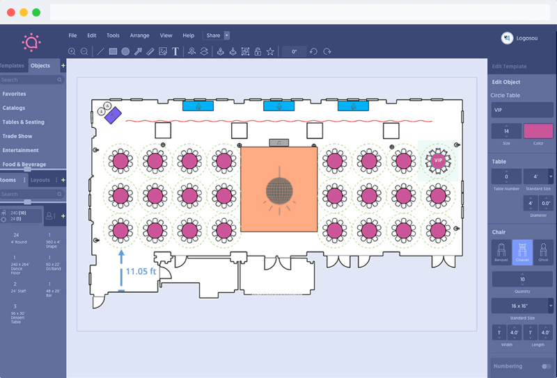 Easy to Use Event Diagramming Software