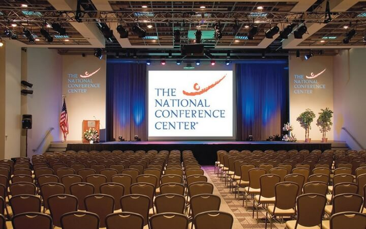 The National Conference Center is a popular DC event space