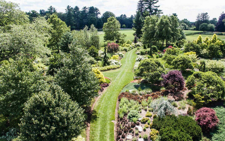 The Gardens at Elm Bank is a premier outdoor venue amongst Boston event spaces