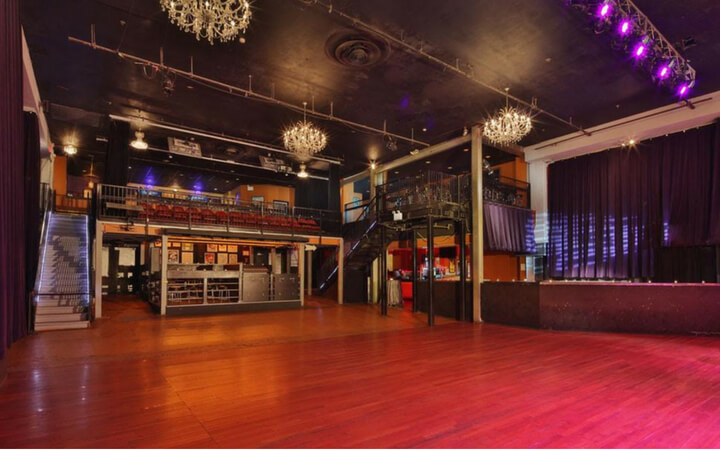 A philadelphia event space inside the famous Theatre of Living Arts