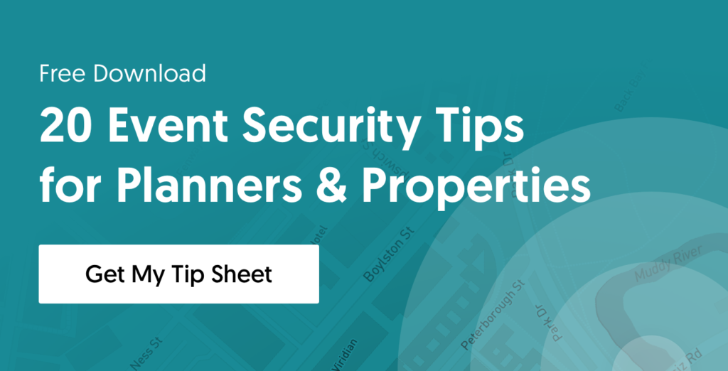 Tip Sheet: Event Security