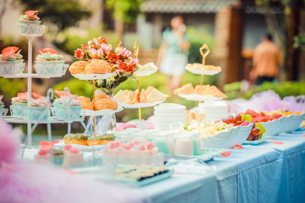 Summer event ideas for parties, baby showers, birthdays