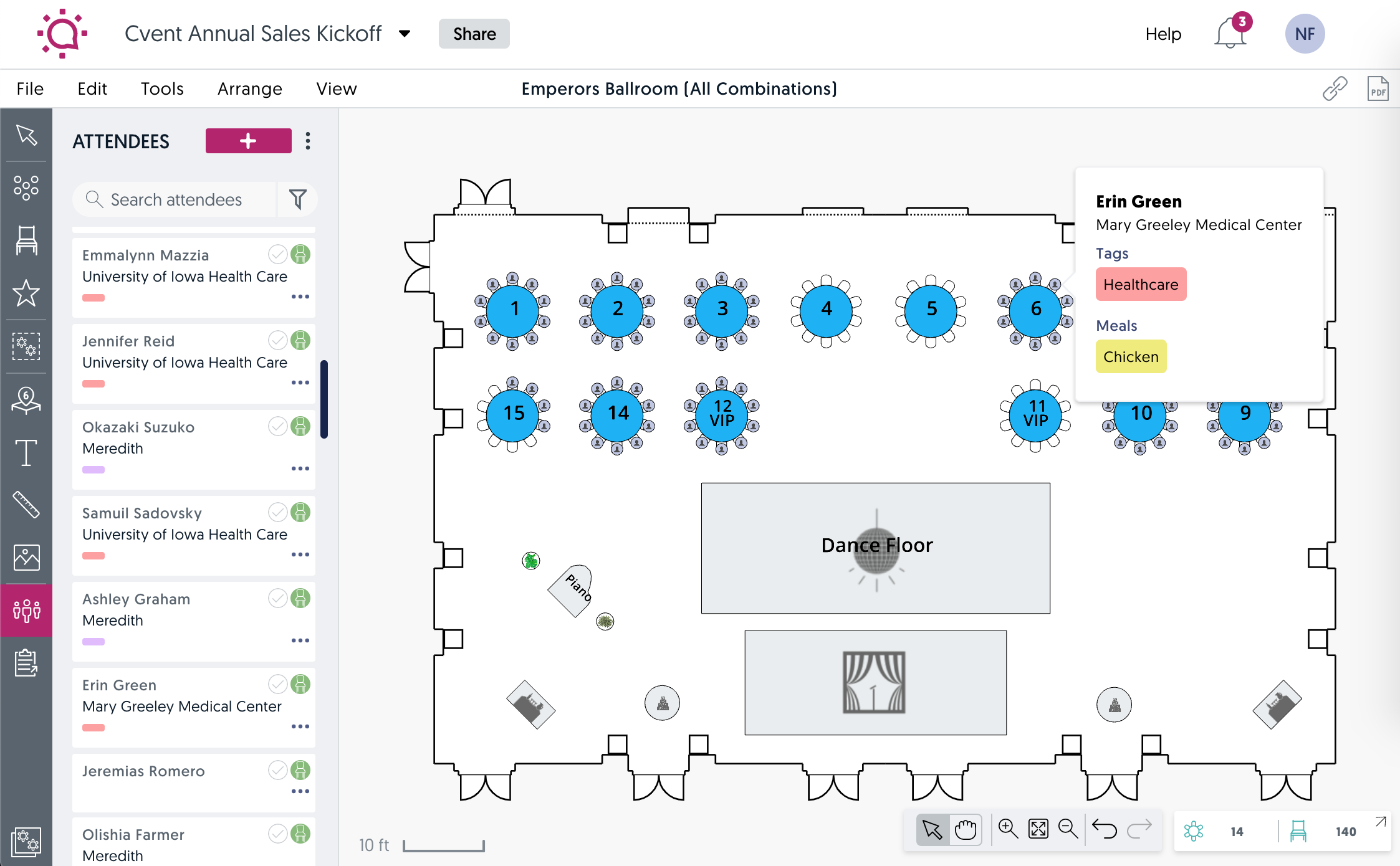 Event diagramming is an event technology trend