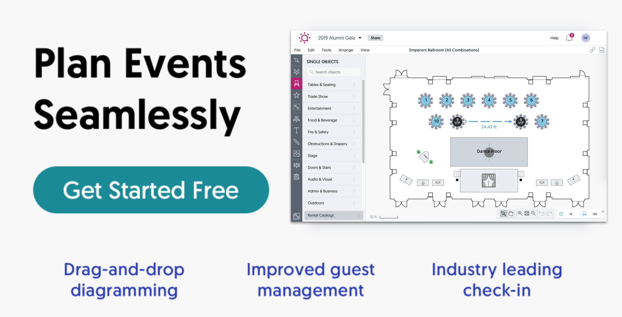 Plan Events Seamlessly